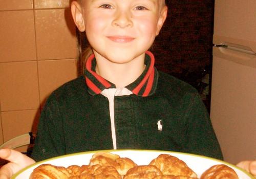 """Kajaus obuoliniai sausainiai """"sraigės"""""""