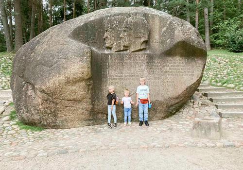 Puntuko akmuo ir Lajų Takas