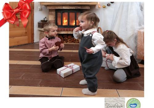 Huggies® šventinių dovanų katalogas: Zanzibach – stilingi drabužiai iš natūralių medžiagų