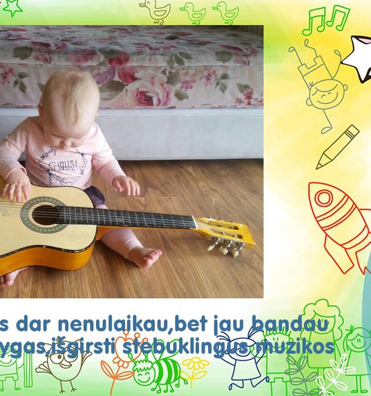 Stebuklingam muzikos pasaulyje