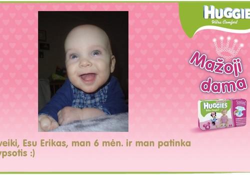 Šypsenėlė Erikutis :)