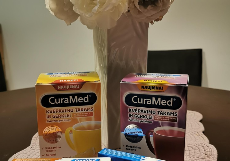 CURAMED - pirmoji pagalba peršalus!