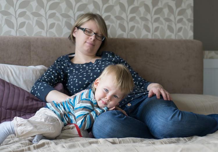 Du mažyliai namuose: močiučių reikalai