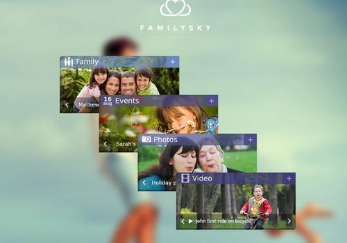 Ar girdėjote apie naują virtualų šeimos projektą FamilySky?