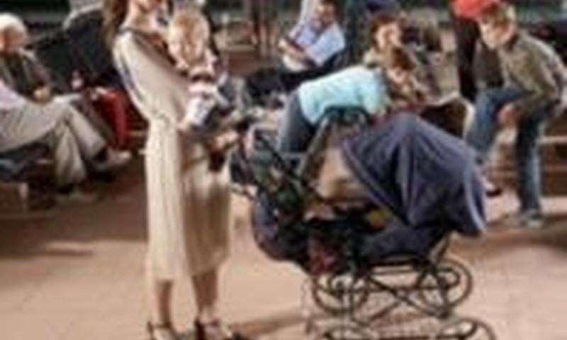 Kaip neapsirikti renkantis vežimėlį?