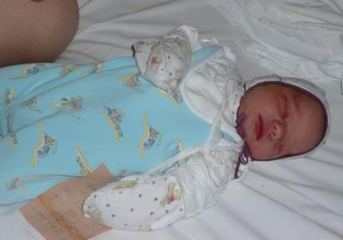 Sūnelio Luko gimimas