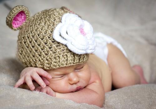 3 - 4 savaitė: kūdikio miegas