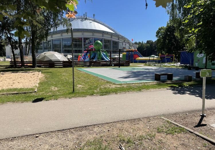 Vasaros gidas: Vilnius Vingio parkas
