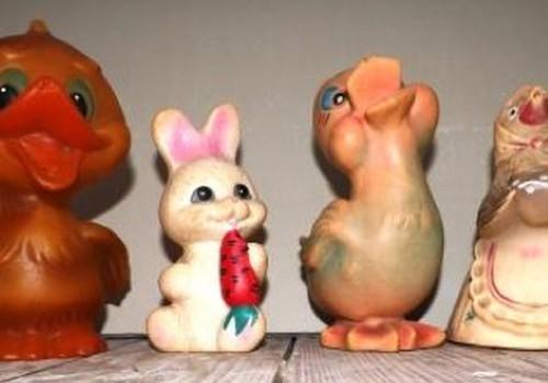 Vaikystės žaislai priminė laimingą vaikystę