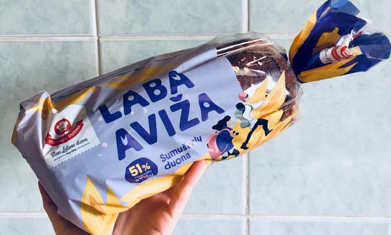 """Ragaujame sumuštinių duoną """"LABA  AVIŽA"""""""