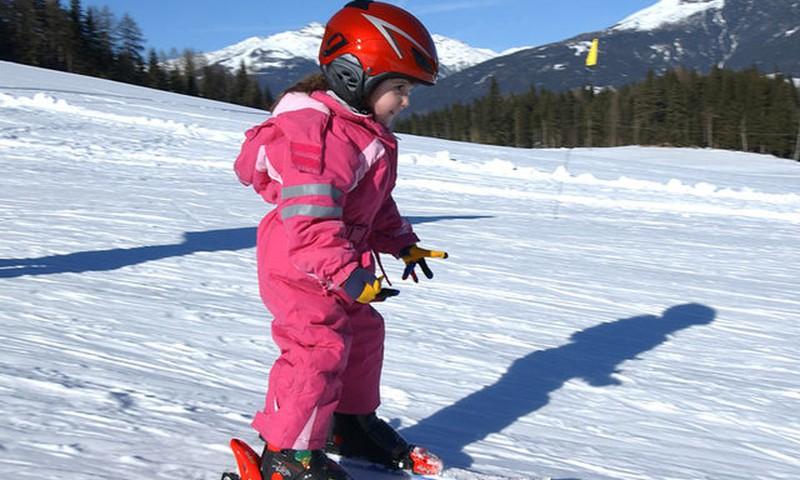 Kada vaikai gali pradėti mokytis slidinėti nuo kalnų?