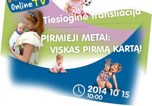"""""""Mamyčių TV"""" - spalio 15 d. 10-13 val. transliacijos internete IŠSAMI PROGRAMA"""