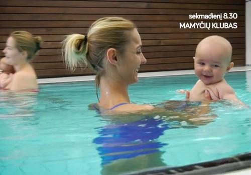 Ką matysite laidoje šį sekmadienį: Indrė - baseine su sūneliu, trynukų mityba, Gintarės Songailės savaitgalio receptas