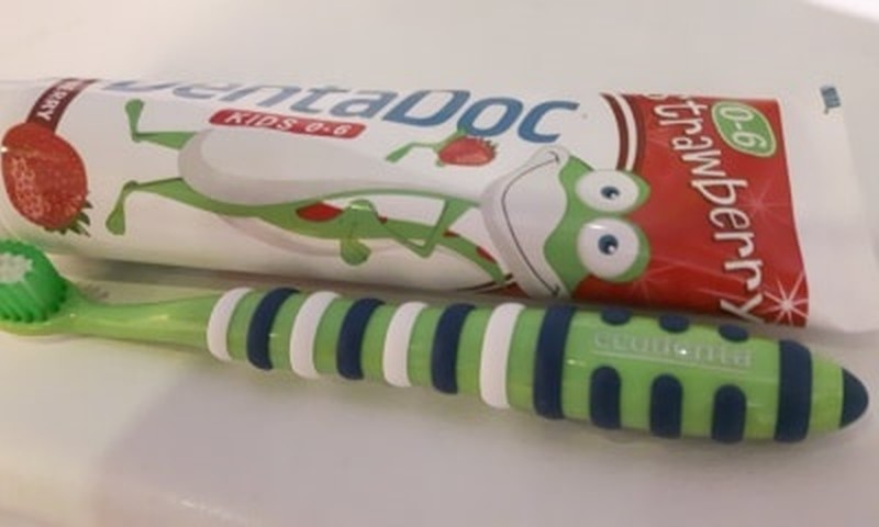 Kaip nustatyti, ar vaikas gerai išsivalė dantis?...