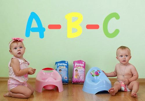 Pratinimosi prie puoduko A-B-C: raidė A