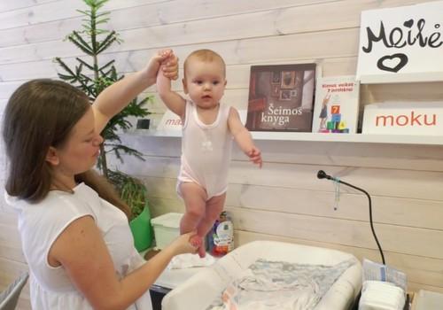 VIDEO: Kūdikio dienotvarkės įprasminimas pagal Renatą Lazdin