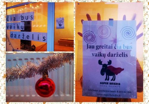 """Projektas """"Kaip mes kuriame darželį"""": Kalėdos darželyje"""