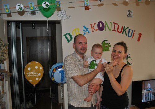Jonuko Drakoniuko 1-asis gimtadienis!