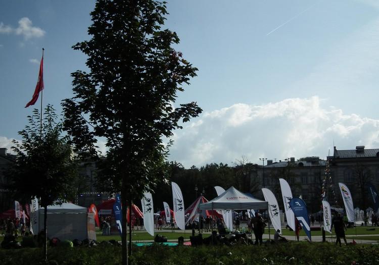 Sporto festivalis po atviru dangumi