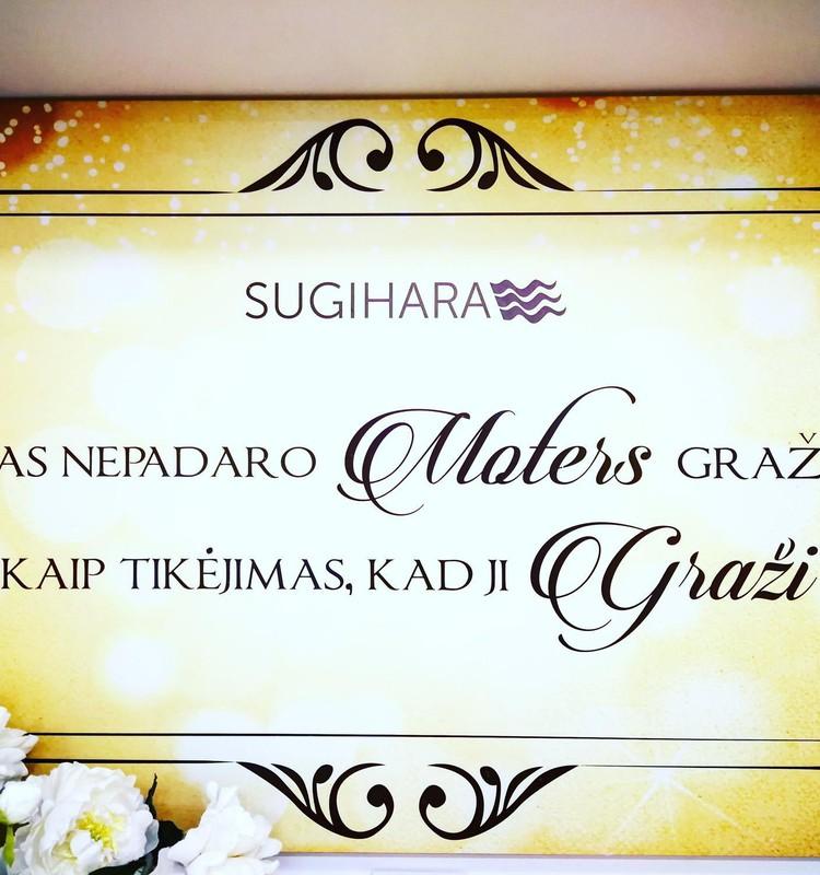 """SUGIHARA SPA centras ir kosmetikos parduotuvė PC """"Akropolis"""""""