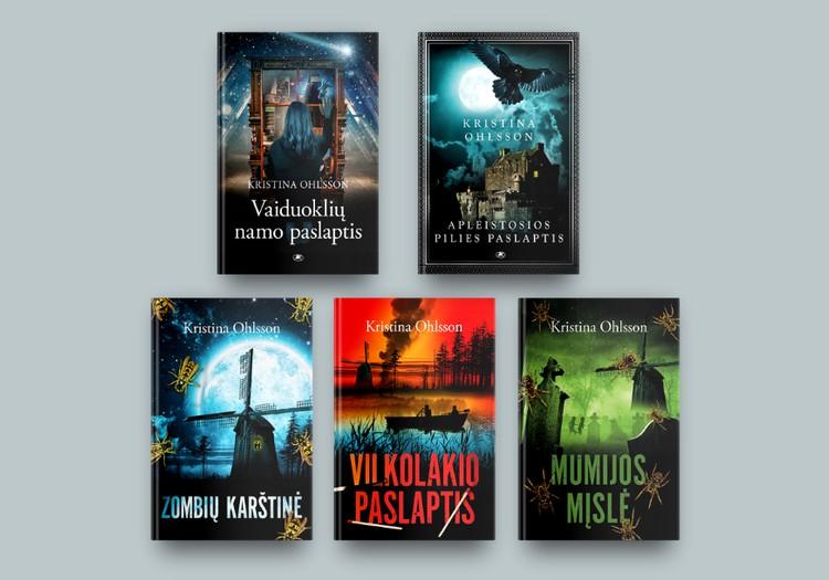 Kristina Ohlsson – Švedijos detektyvų meistrė, minanti šiurpinančias mįsles vaikams