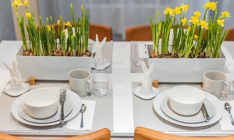 4 taupūs būdai padengti Velykų stalą