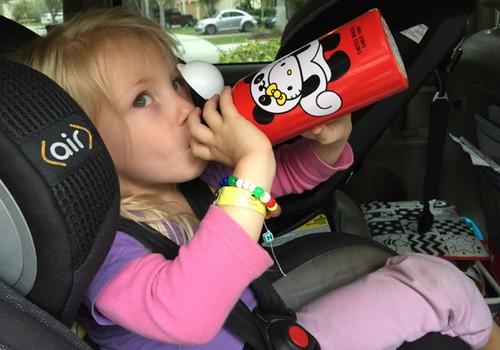 Ką duoti atsigerti mažyliui kelionėje?