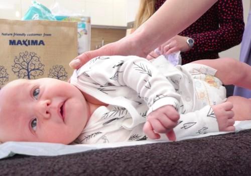 VIDEO: Kaip tinkamai pakeisti sauskelnes kūdikiui?