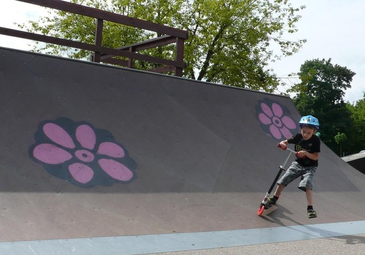 Pramogos Skate parke