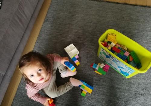 Jokūbo ir Elenos pažintis su Lego Duplo