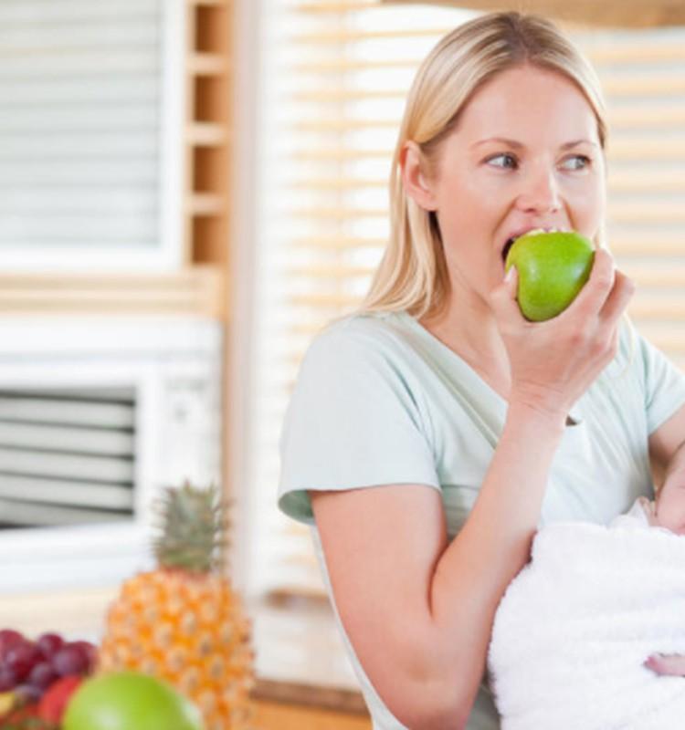 Mamos mityba žindymo periodu: mitai ir tikrovė