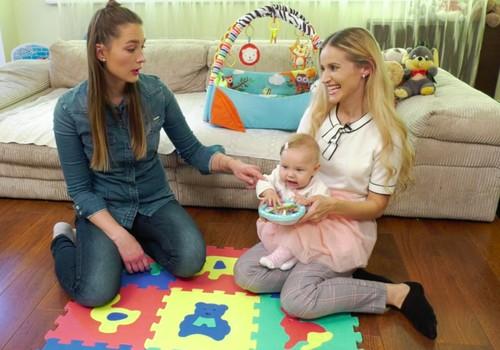VIDEO: Naudingi žaidimai ir užsiėmimai su 6 mėnesių kūdikiu