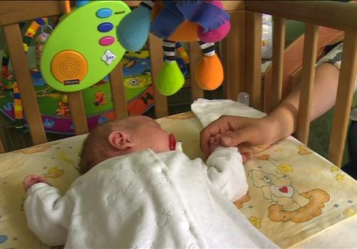 Super mažylė: keli patarimai ramiam kūdikio miegui
