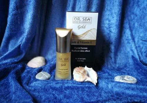 Dr. Sea serumas su aukso dalelėmis - nuostabi dovana iš Izraelio