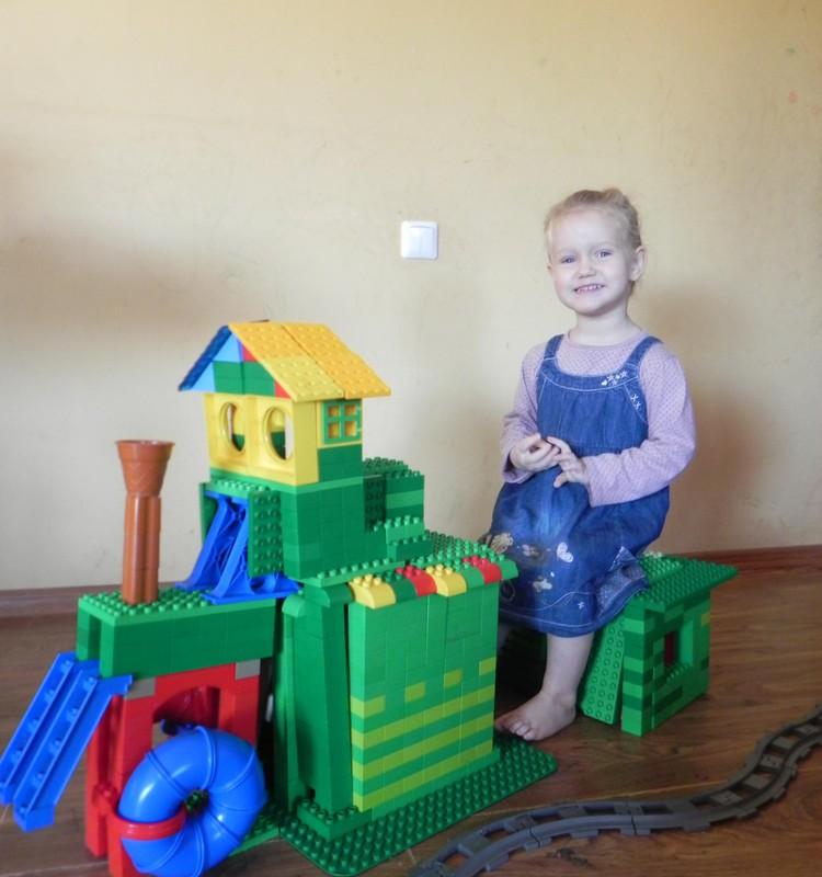Doroteja (2,5metu)- traukinio masiniste