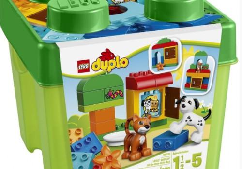 Konkursas Facebooke: Laimėk Lego Duplo!
