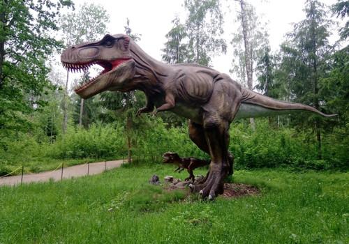 Keliaujame po Lietuvą. Dinozaurai Raubonyse
