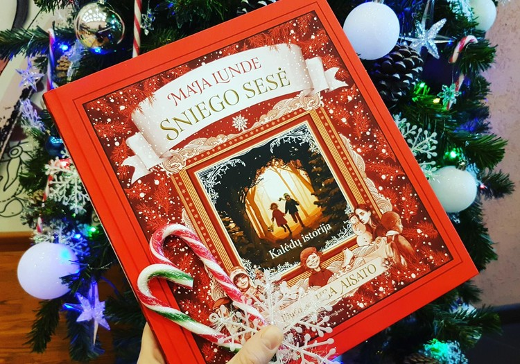 Tobula knyga Kalėdų belaukiant