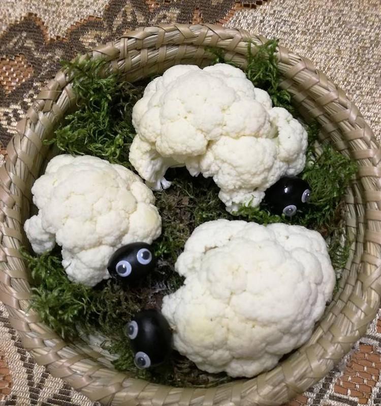 Avytės iš daržovių