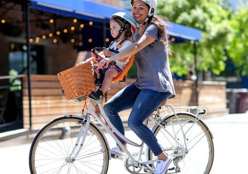 Kaip dažnai vežate vaiką dviračiu? 5 idėjos