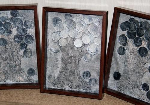Rankų darbo dovanėlės: Pinigų medis