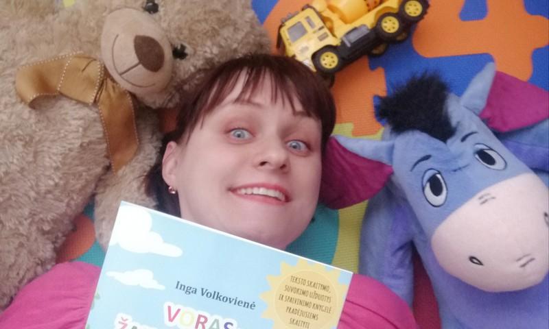 Kaip iš pasakos prieš miegą gimė knygelė: Voras - žaislų meistras