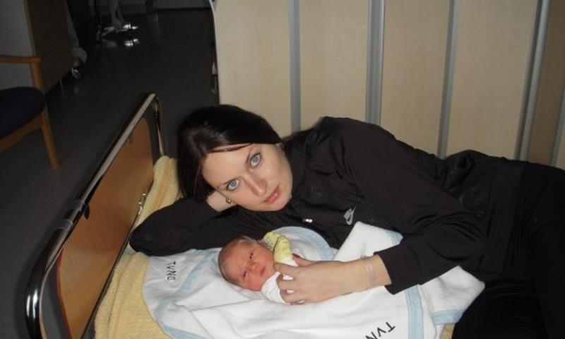 Gimiau beveik prieš du mėnesius, o mamytė tebevadina leliuku