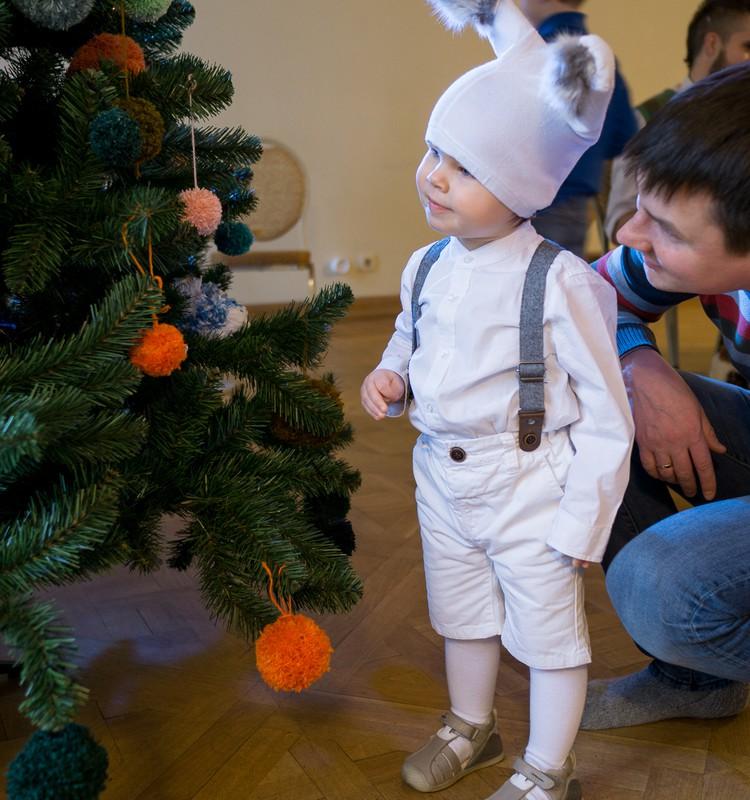 Du mažyliai namuose: Kalėdinė šventė