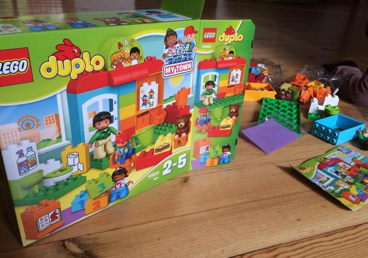 """Dėkojame už """"Vaikų darželį"""" iš Lego duplo"""