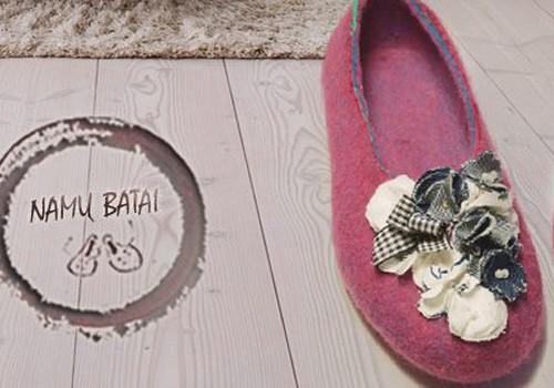 Išmokite nusivelti namų batus!