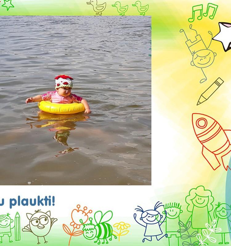 Plaukti gali ir kūdikiai