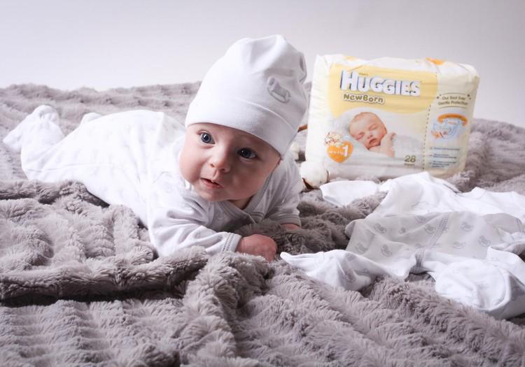 Kas norite išbandyti Huggies® Newborn sauskelnes!