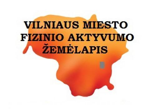 Prisidėk ir tu prie Vilniaus fizinio aktyvumo žemėlapio atnaujinimo
