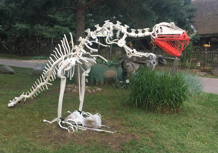 Vasaros gidas: Metalo skulptūrų muziejus prie Vištyčio